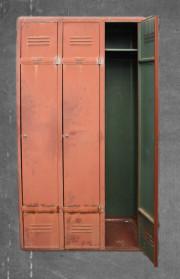 vestiaire métallique vintage années 30