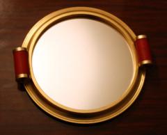 plateau miroir art deco 1920 - 1930