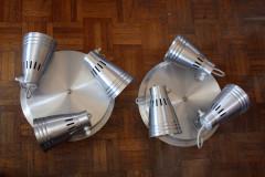 appliques en aluminium design industriel