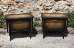 Tables de chevet vintage vers 1950
