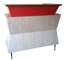 Bar vintage formica années 60