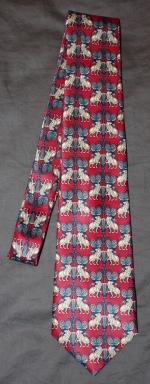 cravate vintage années 50 / 60