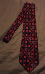 Cravate Yves Saint Laurent vintage, soie