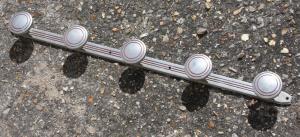 Porte manteaux aluminium années 50
