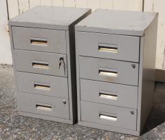 ancien caisson métallique, tiroirs, administration, usines