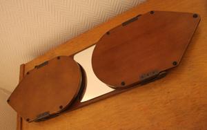miroir triptique des années 30