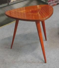 Table tripode, années 50, vintage