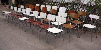 chaises formica pour restaurant et bistrot