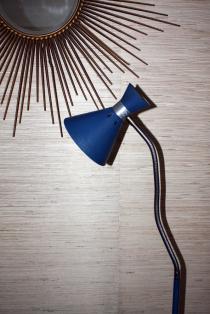 lampadaire diabolo, liseuse, années 50