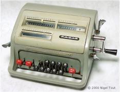 machine à calculer FACIT, années 60