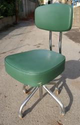 Chaise de bureau années 50