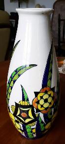 Vase Keramis, forme 805, numéroté, made in Belgium