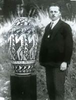Charles Catteau, illustrateur céramique Kéramis, Art Déco