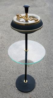 Cendrier sur pied, Soveno, années 50, tablette
