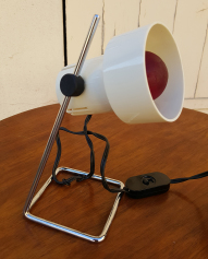 Lampe à poser, chevet, bureau, années 70.