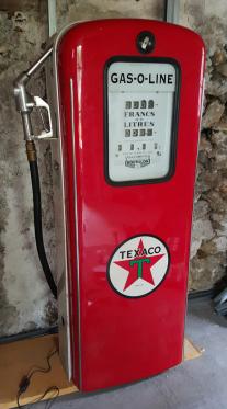 Pompe à essence Texaco années 50 US
