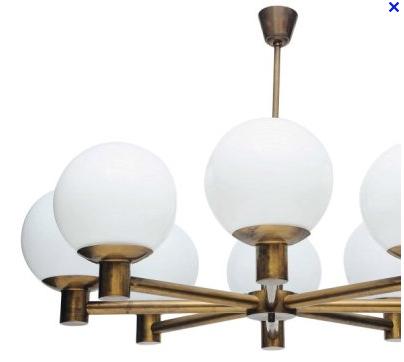 Lampes lustres suspensions appliques ann es 50 60 et - Appliques annees 50 ...