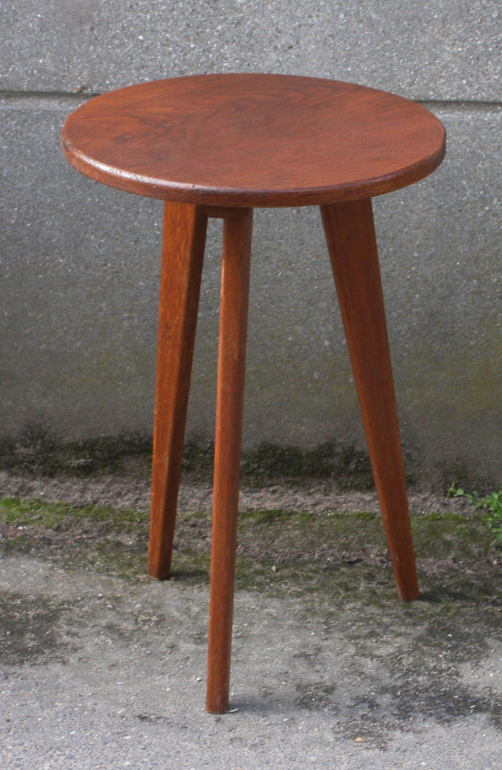 Broc co porte pots gu ridons vintage bouts de canap for Table tripode scandinave
