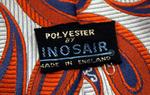 cravate cachemire, vintage, 1980