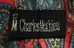 cravate cachemire vintage