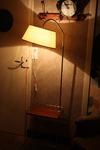 lampadaire tablette porte revues années 50