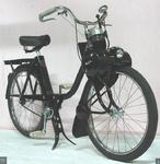 plaque publicitaire métallique velo solex 1400 de 1959