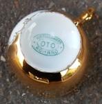 Tasse et soucoupe, porcelaine, vintage, saint Pietro, Roma