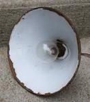Lampe d'atelier en métal, vintage