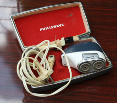 rasoir philipsshave 1960, vintage, collector