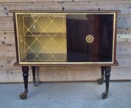 meuble bar vintage années 50