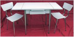 Table et chaises formica Roche Bobois
