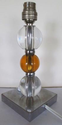 Lampe art deco 1930, style Adnet