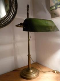 lampe de notaire art deco NIAM