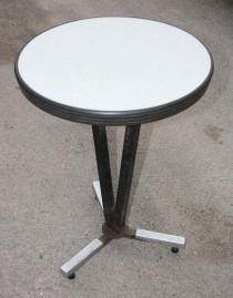 table de bistrot années 50