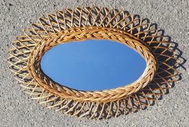 Miroir soleil, design vintage 60 / 70