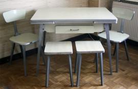 table moderniste formica années 50 JPP