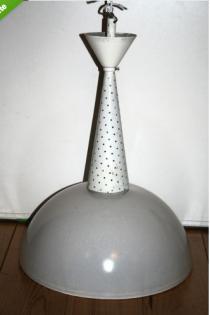 suspension holophane, Mathieu Matégot, 1950