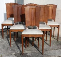 Chaises salle à manger, années 50