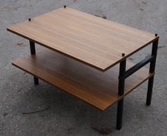 table basse, bout de canapé, formica, métal