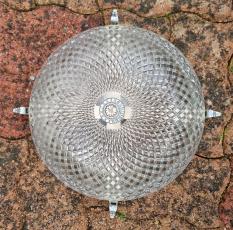 Pied de lampe style adnet, vers 1950