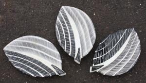 coupelles céramiques lucien Neuquelman, 1960