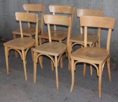 chaises de bistrot Baumann, vintage