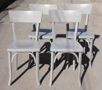 Chaises bistrot baumann, stylisées