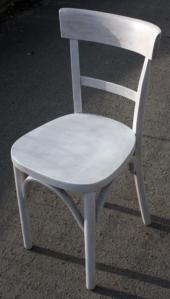 Chaises de bistrot vintage