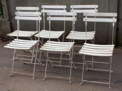 Chaises de jardin pliante vintage