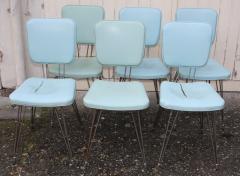 lot de chaises pied eiffel, vintage