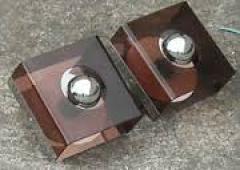 appliques plexiglass, années 70