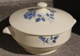 soupière vintage années 50, porcelaine
