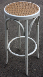 Tabouret haut, style shabby chic