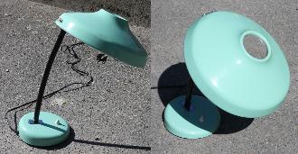 lampe bureau, à l'italienne, années 50 / 60